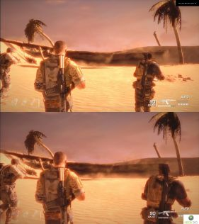 Demo Spec Ops: The Line. PS3 vs. X360. Fight! #2