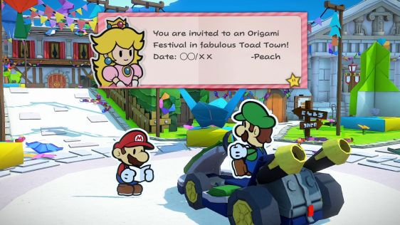 Paper Mario: The Origami King screen 8
