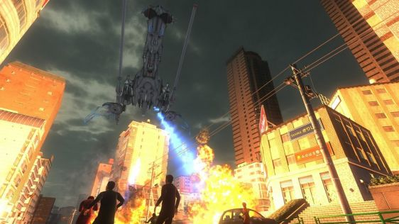 Sporych rozmiarów galeria z Earth Defense Force 4.1: The Shadow of New Despair #50