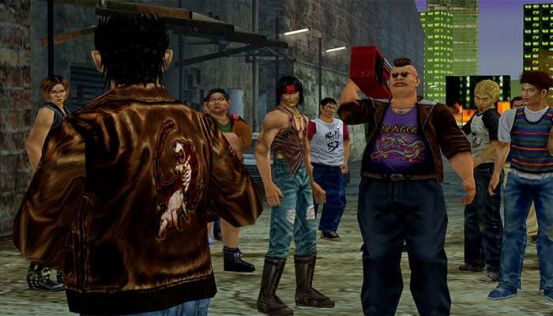 Shenmue 1 & 2 HD Collection. Pierwsze screeny 1080p z PS4 #10