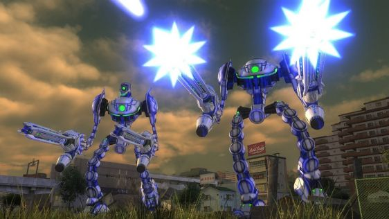 Sporych rozmiarów galeria z Earth Defense Force 4.1: The Shadow of New Despair #42