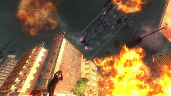 Sporych rozmiarów galeria z Earth Defense Force 4.1: The Shadow of New Despair #6
