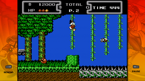 Gameplay DuckTales 2 z The Disney Afternoon Collection