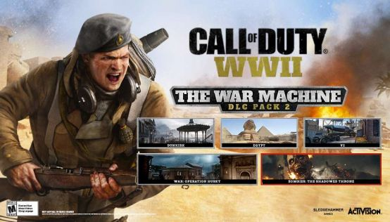 Call of Duty: WWII The War Machine zapowiedziane. Nowe DLC nadciąga #2