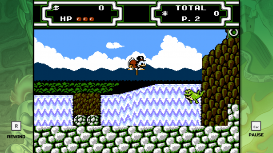 Gameplay z DuckTales w The Disney Afternoon Collection
