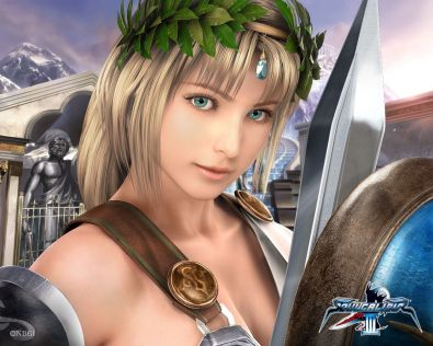 Miss Gier Wideo: Lara Croft vs Sophitia #3