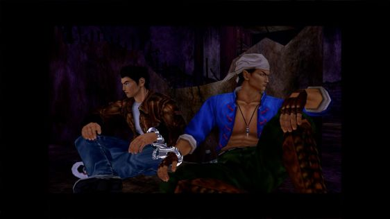 Shenmue 1 & 2 HD Collection. Pierwsze screeny 1080p z PS4 #3