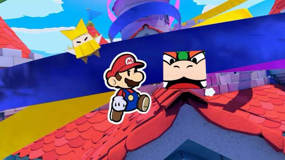 Paper Mario: The Origami King screen 1