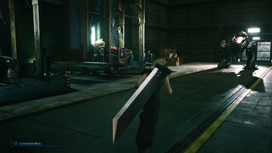 Final Fantasy VII Remake Screeny 01