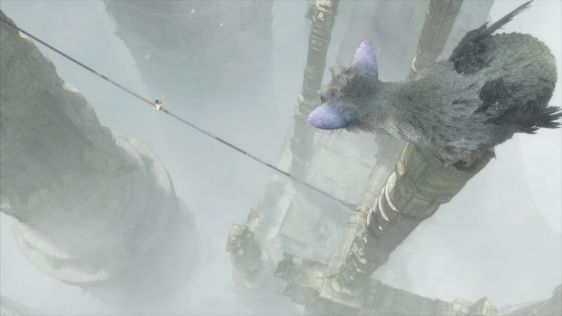 Ze screenami mu nie do twarzy - zrzuty ekranu z The Last Guardian #3