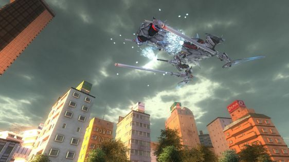 Sporych rozmiarów galeria z Earth Defense Force 4.1: The Shadow of New Despair #1