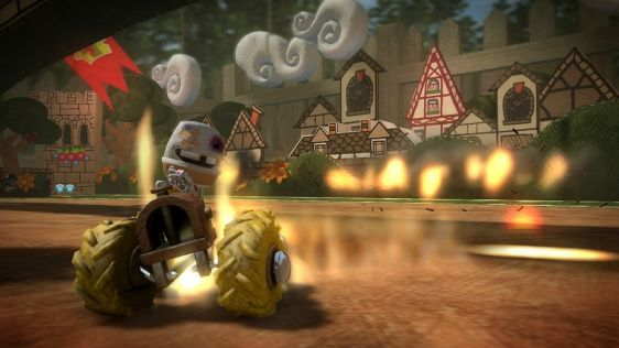 Little Big Planet Karting na nowych ujęciach #8