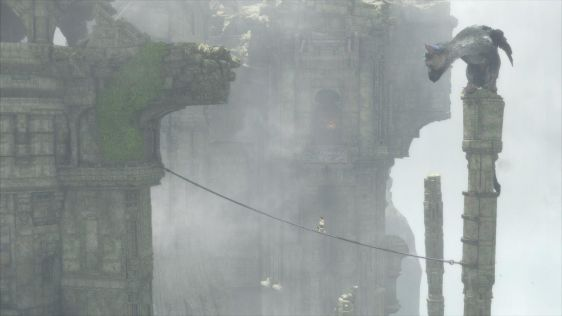 Ze screenami mu nie do twarzy - zrzuty ekranu z The Last Guardian #2