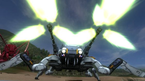 Sporych rozmiarów galeria z Earth Defense Force 4.1: The Shadow of Despair #31