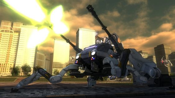 Sporych rozmiarów galeria z Earth Defense Force 4.1: The Shadow of Despair #5