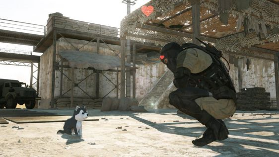Świetne screenshoty z Metal Gear Online 3 #4