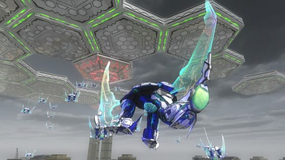 Sporych rozmiarów galeria z Earth Defense Force 4.1: The Shadow of New Despair #28