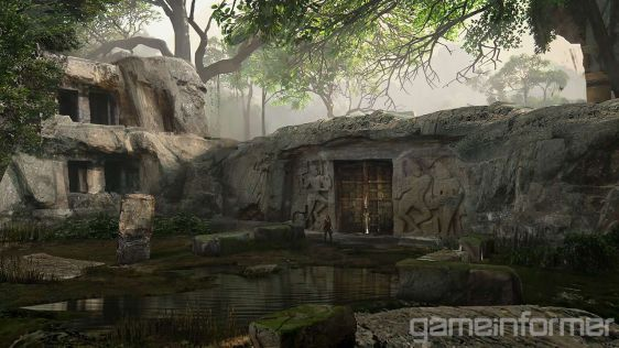 Uncharted: The Lost Legacy - bohaterka na tle ruin