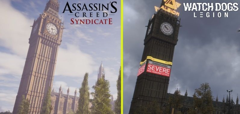 Watch Dogs Legion vs. Assassin's Creed Syndicate