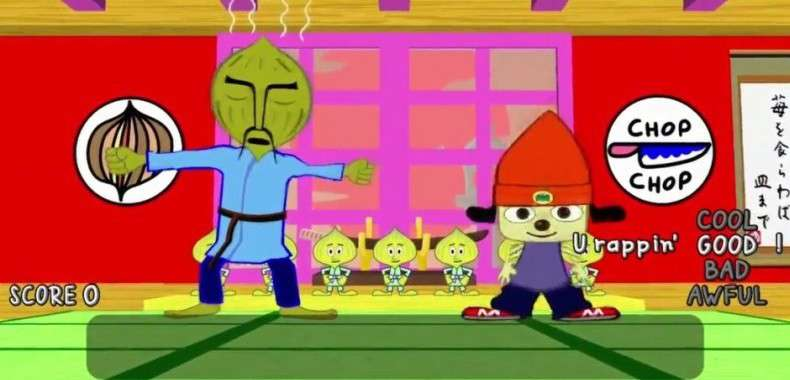 PaRappa the Rapper Remastered na PlayStation 4
