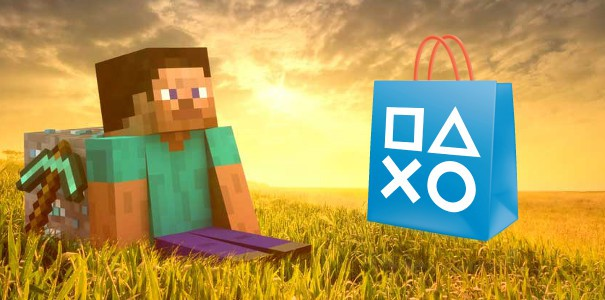 Minecraft na PlayStation 4 za 16,50 zł w PS Store