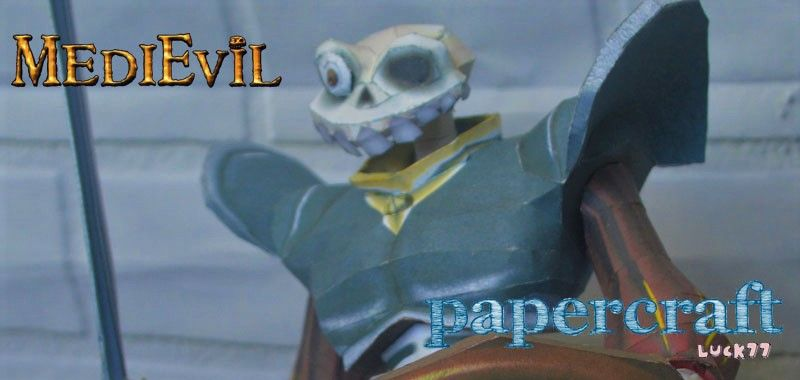 Papercraft #27 – MediEvil - Sir Daniel Fortesque