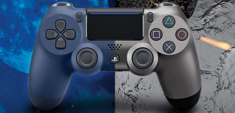 Dualshock 4 w wersji Steel Black i Midnight Blue. Sony prezentuje nowe pady do PlayStation 4
