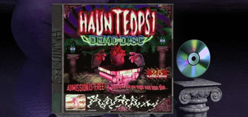 Haunted PS1 Demo Disc