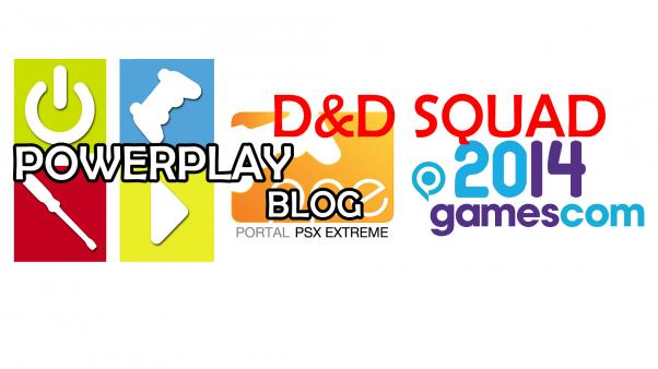 Gamescom 2014 - Prolog Extended Version: 12h do wyjazdu D&D Squad