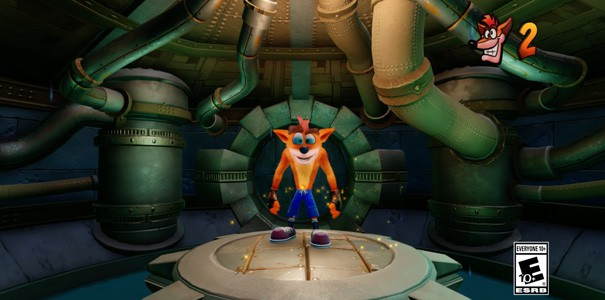 Crash Bandicoot N. Sane Trilogy - nowe nagranie z planszy Sewer or Later
