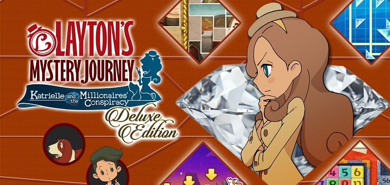 Layton's Mystery Journey: Katrielle and the Millionaires' Conspiracy - Deluxe Edition Plus