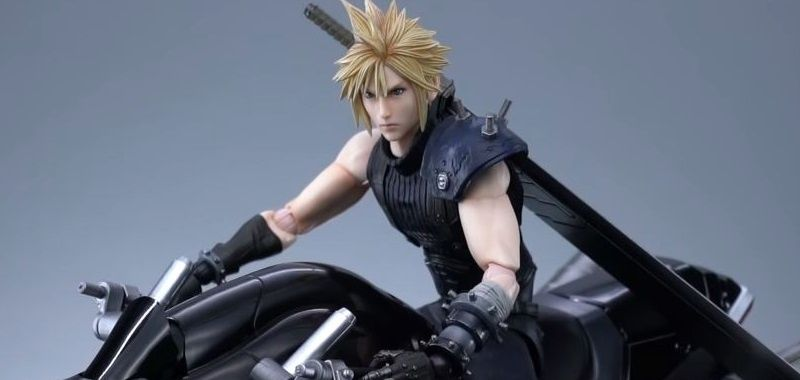 Final Fantasy VII Remake Cloud Figurka