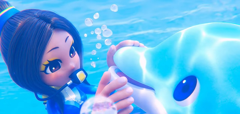 Balan Wonderworld The Dolphin and the Diver