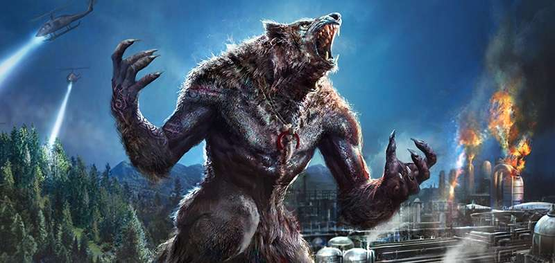 Werewolf: The Apocalypse artwork