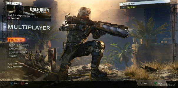 Pierwsze nagrania z multi Call of Duty: Black Ops 3