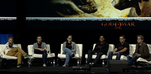 Retrospekcja serii God of War - panel z PlayStation Experience