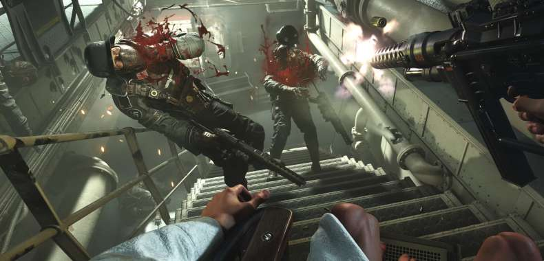 Wolfenstein II. Framerate na PC, grafika na Switch, uzasadnienie braku multiplayera