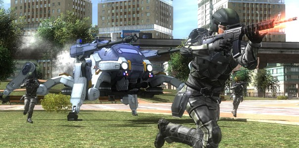 Sporych rozmiarów galeria z Earth Defense Force 4.1: The Shadow of Despair