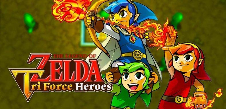 Nintendo zachęca do kooperacji w The Legend of Zelda: Triforce Heroes