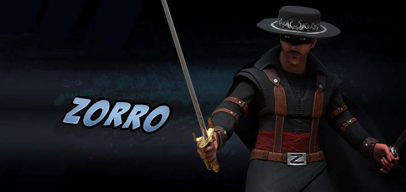 Zorro w Go All Out