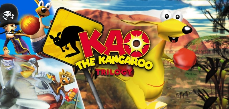 Kao the Kangaroo: Trilogy