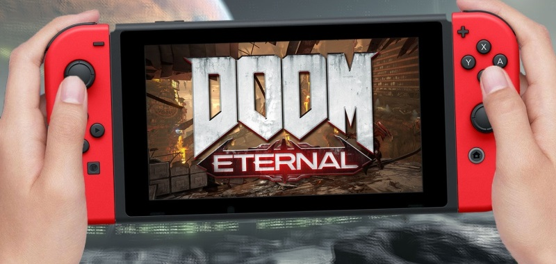 Doom Eternal imponuje na Nintendo Switch