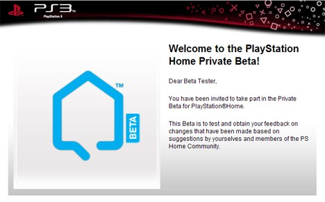 Nowa beta PlayStation Home
