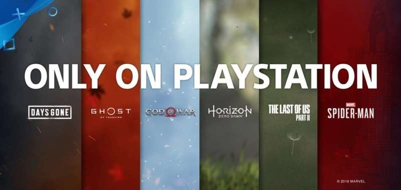 Only On PlayStation PS4 Exclusive Games