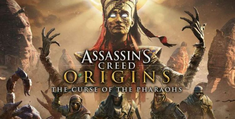 "Assassin's Creed Origins i rozgrywka z trzeciego DLC - ""The Curse of the Pharaohs"""