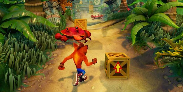 2 minuty z Crash Bandicoot N. Sane Trilogy na Switchu