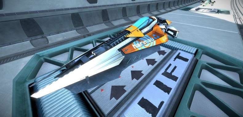 Pojazd z WipEout Omega Collection