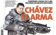 Hugo Chavez bohaterem Gears of War?