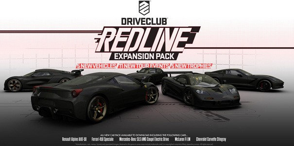 DLC Redline do Driveclub na materiale wideo