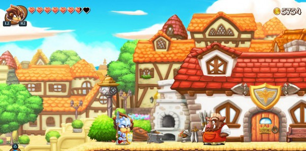 Fragmenty Monster Boy prosto z targów Gamescom